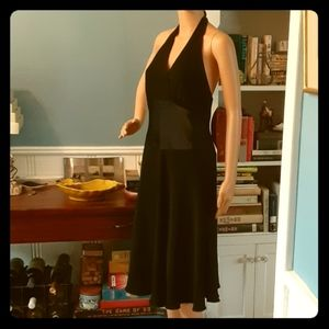 Jones Wear Black halter dress Size 12